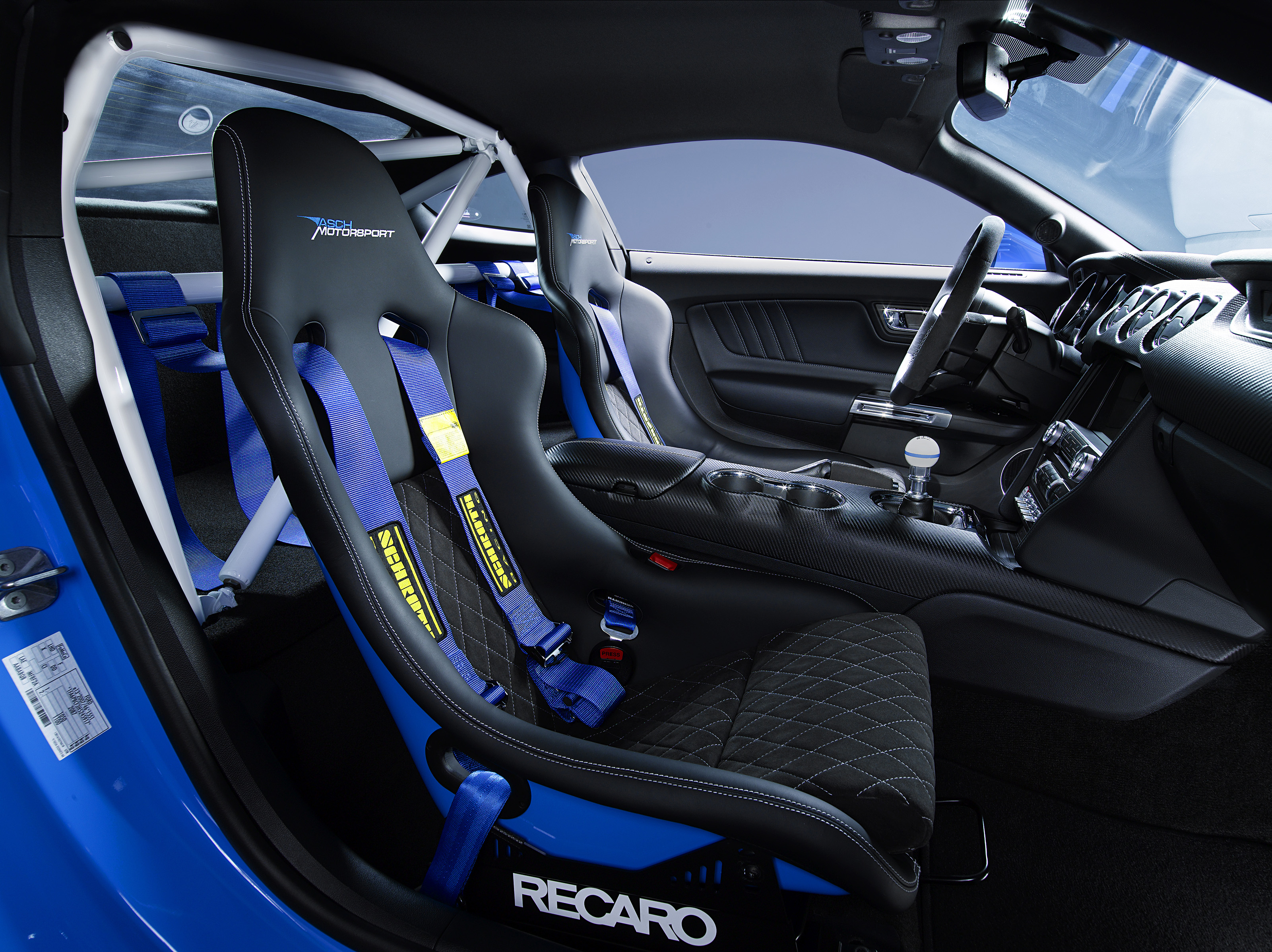 Asch Mustang AM2 Interieur