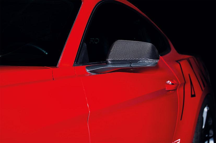 Spiegelschalen Carbon für Mustang GT V8 / Ecoboost / Coupe / Convertible