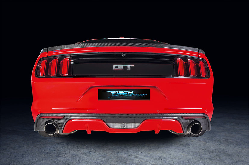 Diffusor Carbon für Mustang GT V8/Ecoboost/Coupe/Convertible