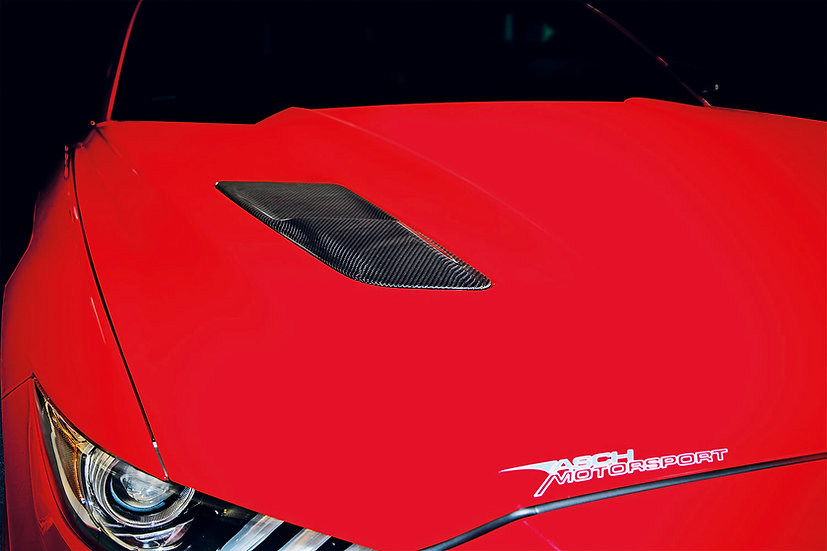 Luftauslass Motorhaube Carbon für Mustang GT V8/Ecoboost/Coupe/Convertible
