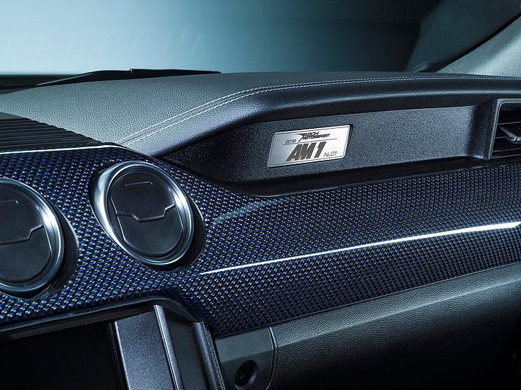 Armaturenblende CARBON für Mustang GT V8/Ecoboost/Coupe/Convertible