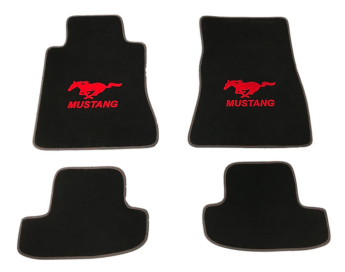 Fußmatten MUSTANG für Mustang GT V8/Ecoboost/Coupe/Convertible