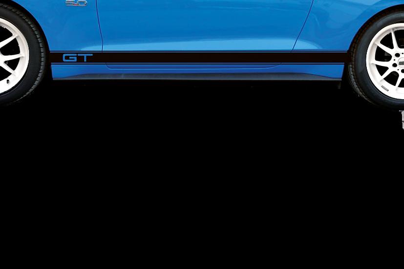 Set Dekorstreifen GT ROCKER STRIPES für Mustang GT V8/Ecoboost Coupe/Convertible