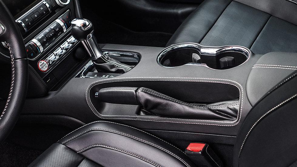 Mittelkonsole LEDER für Mustang GT V8/Ecoboost/Coupe/Convertibl
