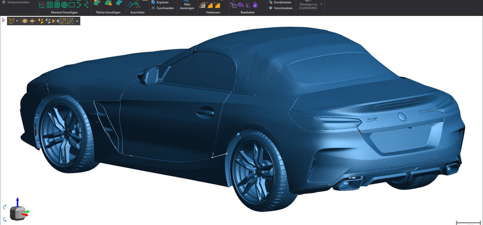 Ergebnis: FINALER 3D-SCAN
