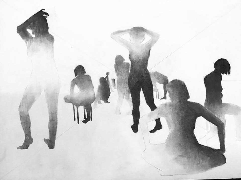 Travail autour de la perspective / Atelier de Chloé Lorenzini / 2020