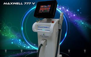 maxwell 777 v - מכשיר לייזר  להסרת שיער-