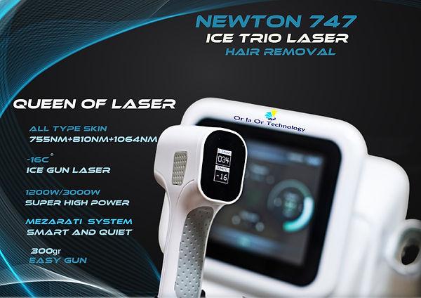 Newton 747-orlaor technology- laser hair