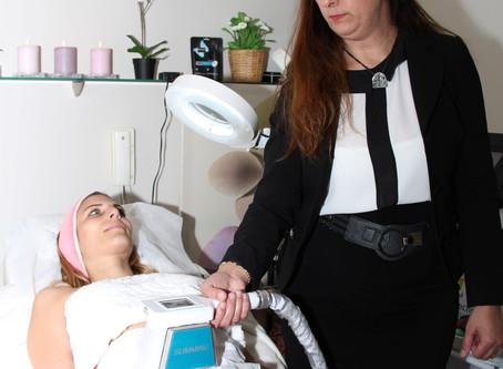 קורס המסת שומן בקור  טיפול בצלוליט   אור לעור