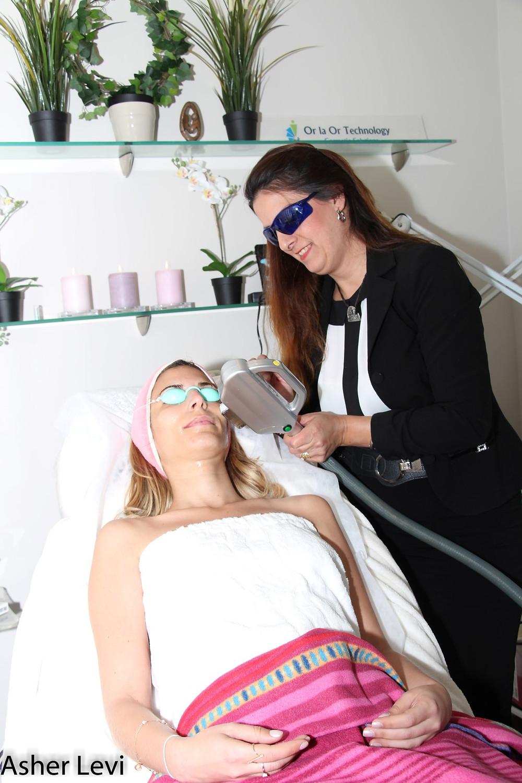 קורס הסרת שיער בלייזר באור לעור טכנולוגיות מומלץTAG