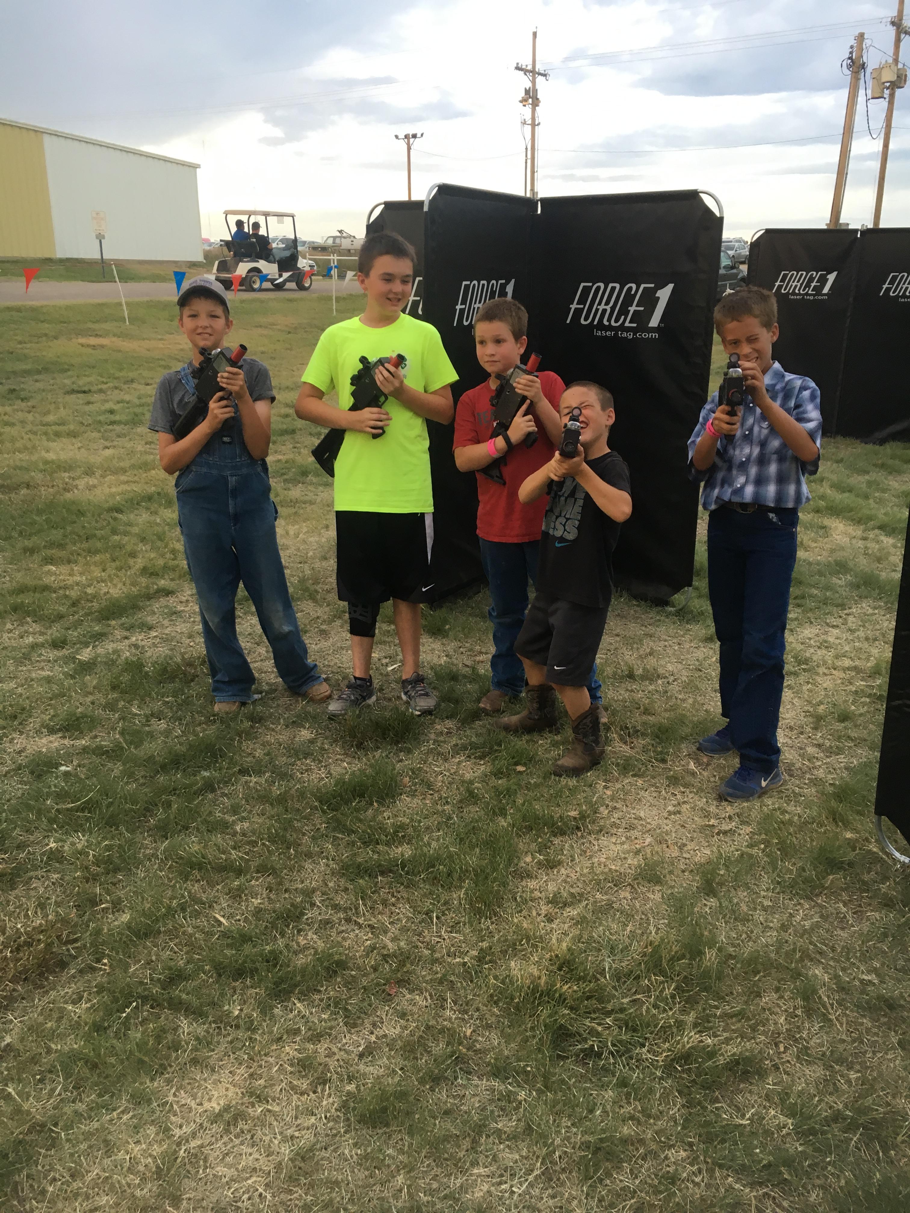 Boys Laser Tag Party