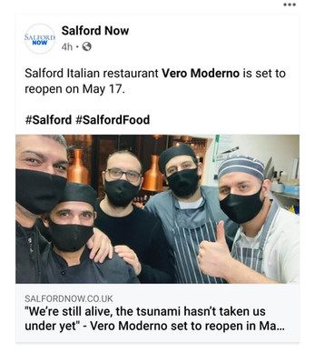 Our recent chat with Salford Now -