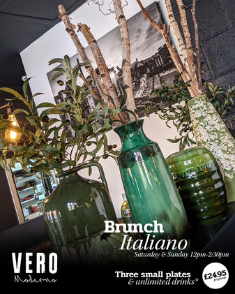 - Introducing our Brunch Italiano! -