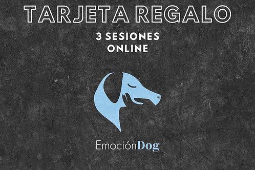 TARJETA REGALO 3 SESION ON LINE