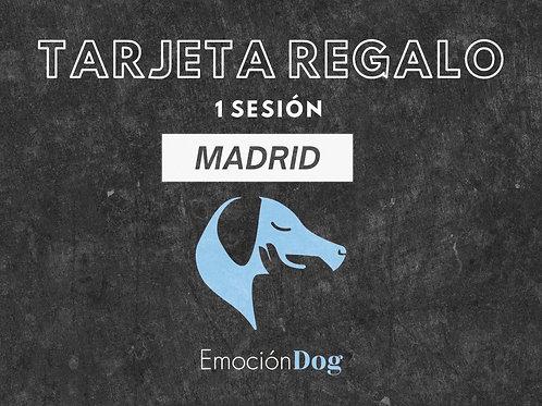 TARJETA REGALO 1 SESION PRESENCIAL MADRID