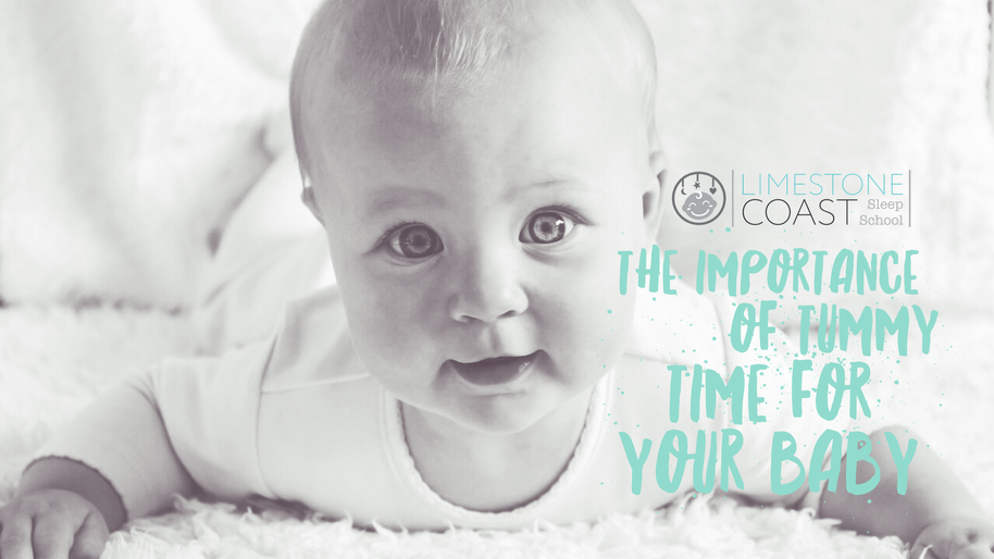 THE IMPORTANCE OF TUMMY TIME FOR YOUR BABY