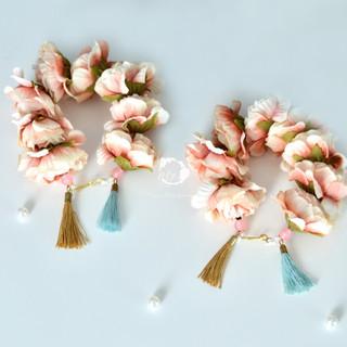 tasseled phool bloom bracelets