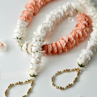 coral + ivory
