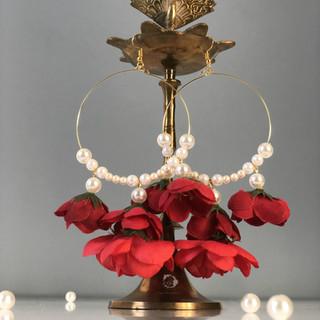 crimson + pearl earrings