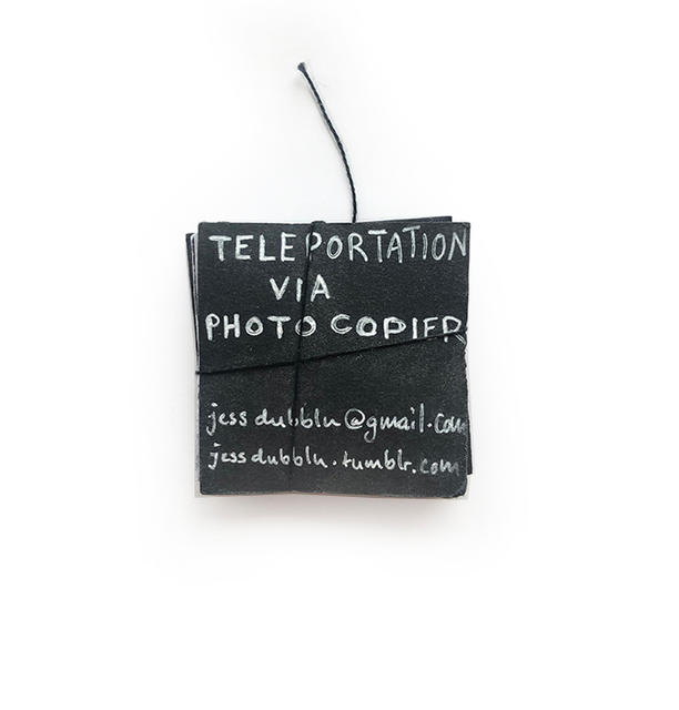 TELEPORTATION VIA PHOTOCOPIER