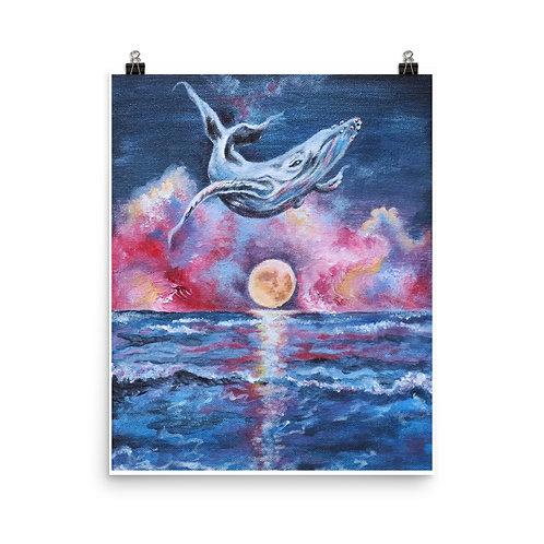 A vivid dream-Framed Poster