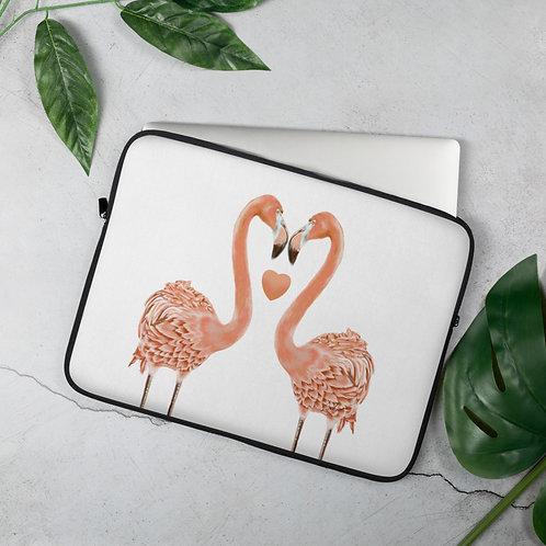 Linamal Flamingo LOVE-Laptop Sleeve