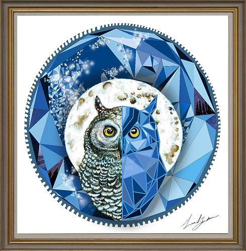 Moon owl - geometry design