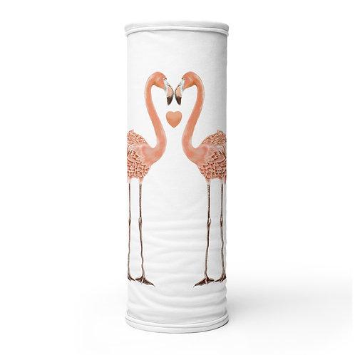 Linamal Flamingo LOVE Neck Gaiter