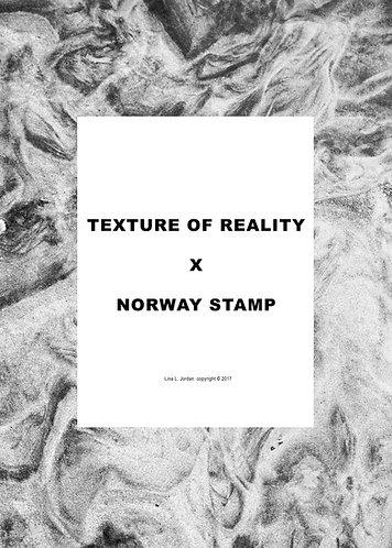 "Risograph art photo zine -""Texture of reality"""