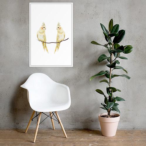 Linamal Cockatiel - Framed poster