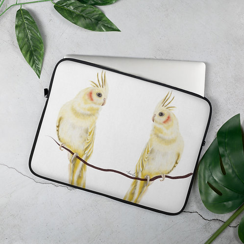 Linamal Cockatiel-Laptop Sleeve