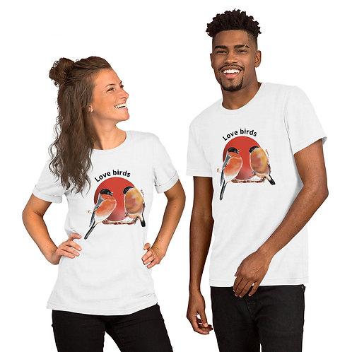 Love birds- Short sleeve unisex T-Shirt