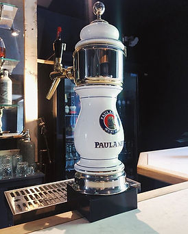 Our function room now has Paulaner on ta
