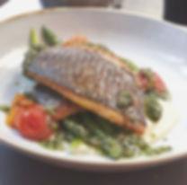 Off the new menu__Pan fried sea bream, g
