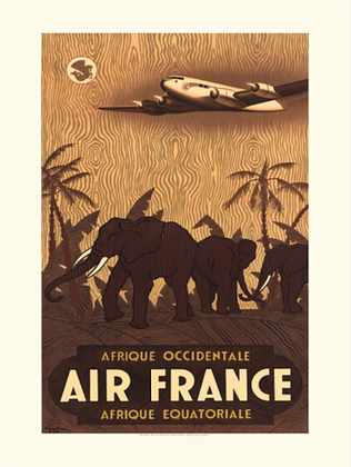 One Art Air France Poster II