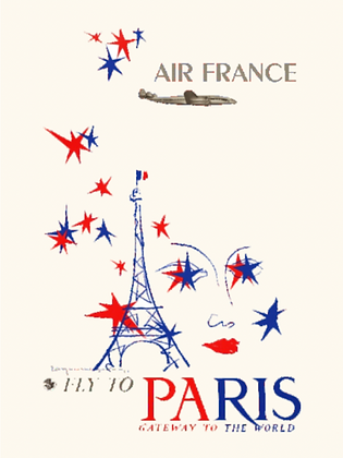 One Art Air France Poster I