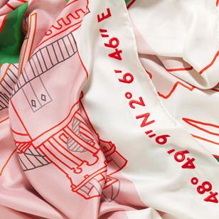 Hameau de la Reine coordinates_hand embroidery