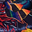Thumbnail: Table-Bed cloth COSMIC TRIP