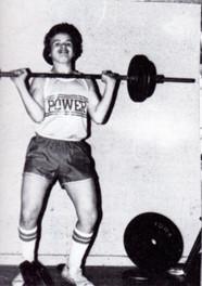 David Irizarry pumping iron (class of '83)