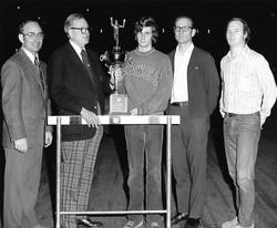 1974 Indoor Mayor's Meet Champions