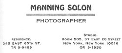 Manning Solon Photography