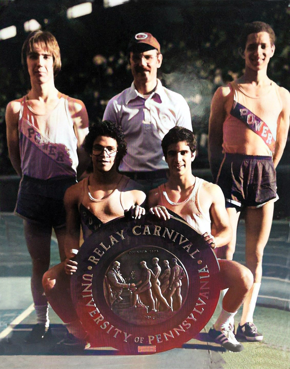 1976 Penn Relays Distance Medley Champions of America