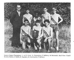 1970 Varsity XC Team-Eastern States Cham
