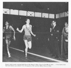 1969 John Lovett - Mayors Meet 600y Dash