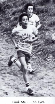Nicholas Gonzalez heads toward the flats at Van Cortland Park (class of '83)