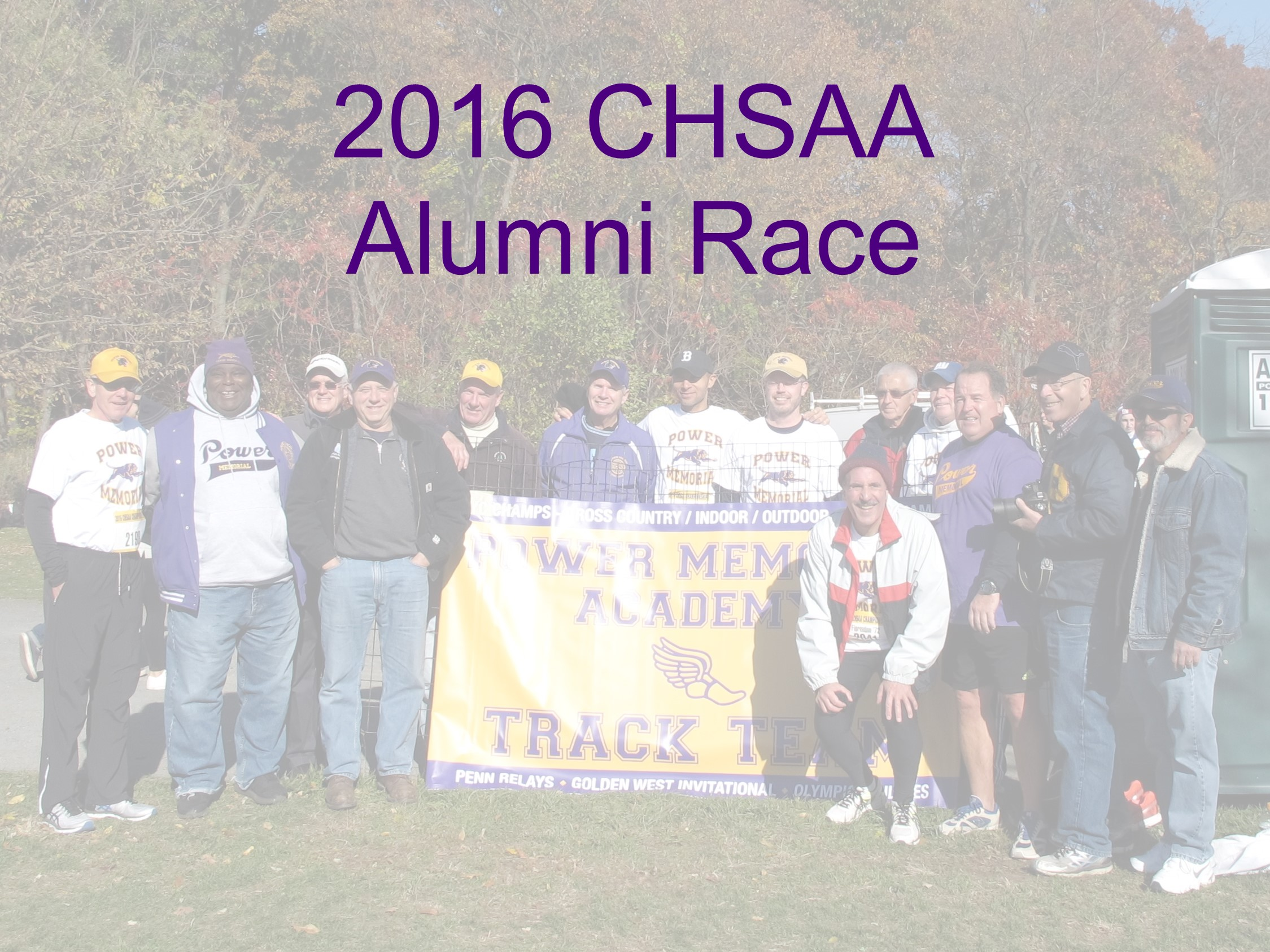 2016 Alumni Race Cover Image