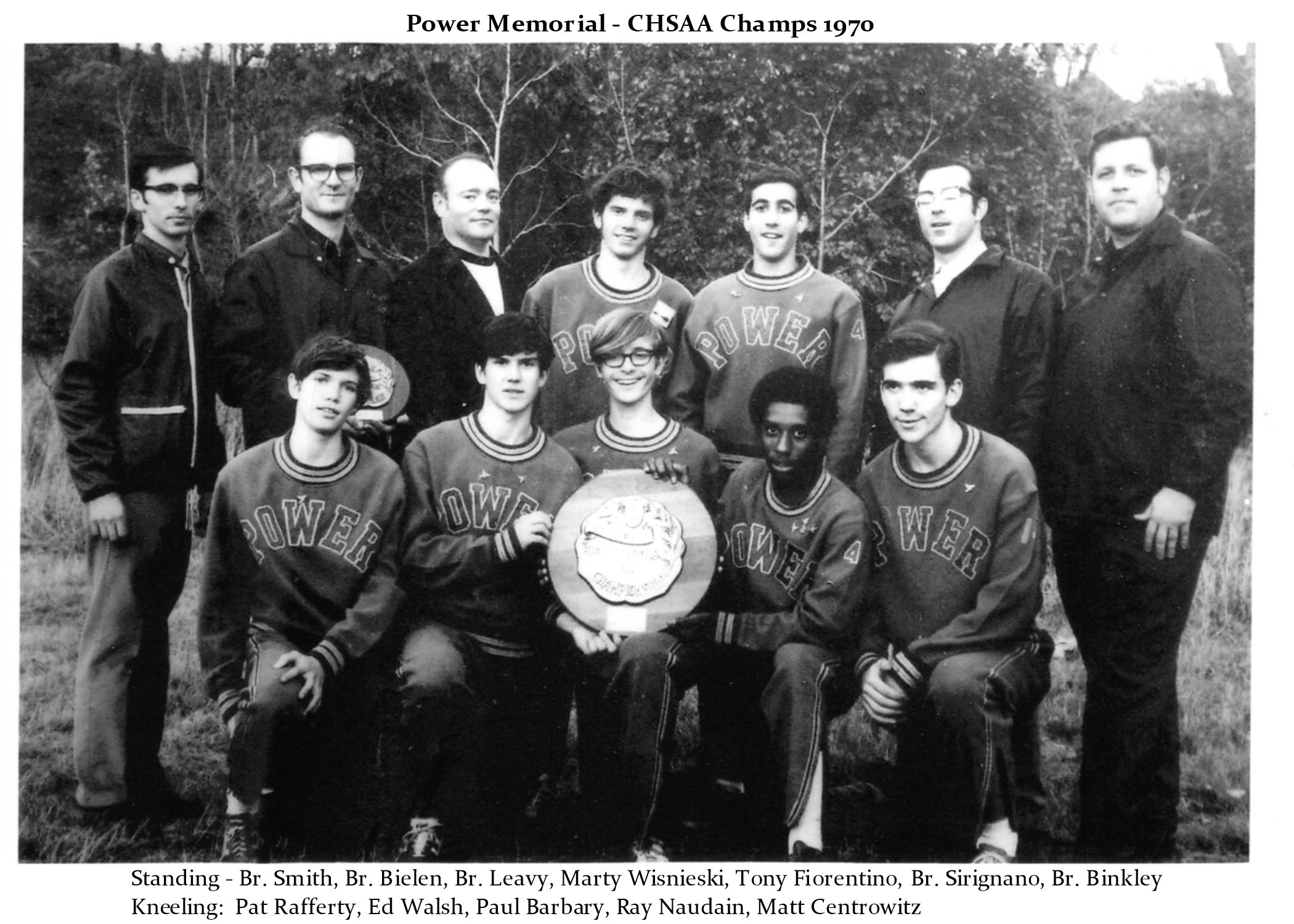 Undefeated 1970 Cross Country Team