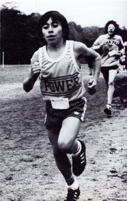 Gino Montalvan races to the finish during Cross Country (class of '83)