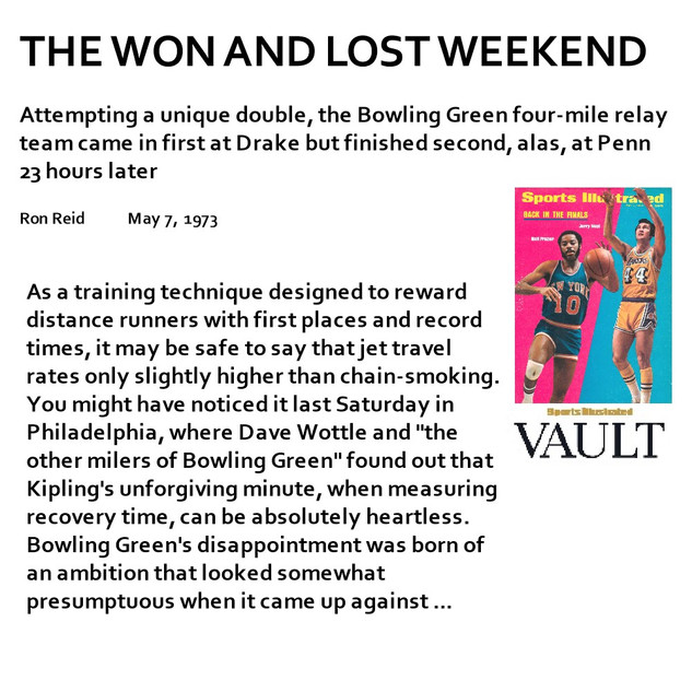 1973-05-07 The Won and Lost Weekend