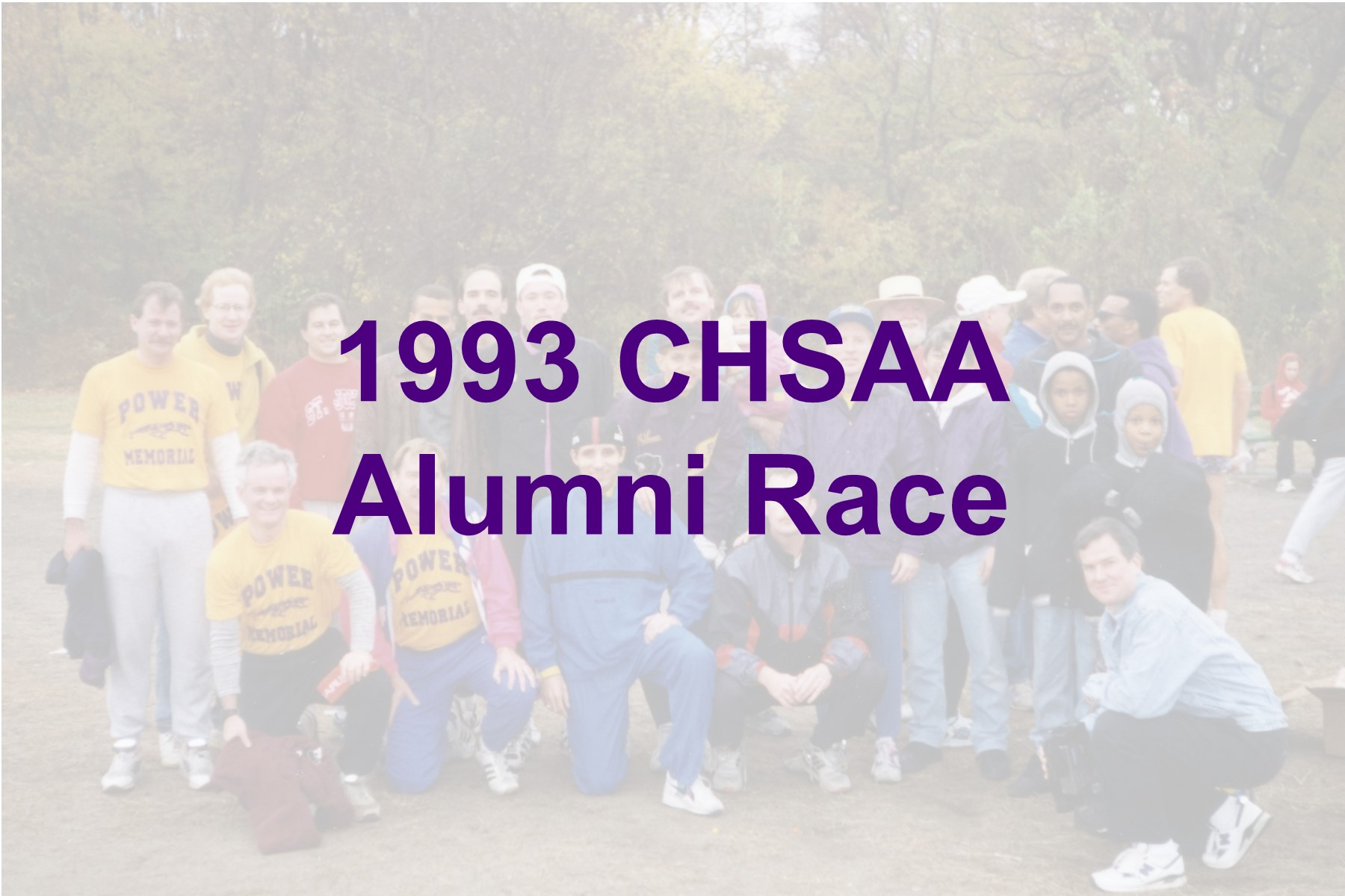1993 Alumni Race Cover Image